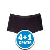 Beeren Comfort Feeling Dames Maxi Tailleslip Zwart Voordeelpakket_