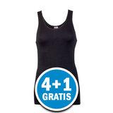 Beeren Comfort Feeling Dames Hemd Zwart  Voordeelpakket_