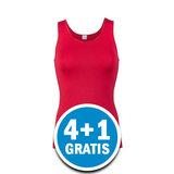 Beeren Elegance Dames Hemd Donkerrood  Voordeelpakket_