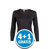 Beeren Thermo Dames Shirt Lange Mouw Zwart  Voordeelpakket_