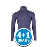 Beeren Unisex Thermo Colshirt Lange Mouw Donkerblauw Voordeelpakket_