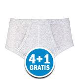 Beeren Heren M3000 Slip Grijs Melee Voordeelpakket_