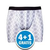 Beeren Heren Boxershort Jayden Wit  Voordeelpakket_