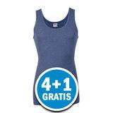Beeren Heren M55 Hemd Denim blauw Voordeelpakket_