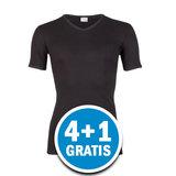 Beeren Heren T-shirt V-hals M3000 Zwart Voordeelpakket_
