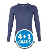 Beeren Heren M3000 Shirt Lange Mouw Donkerblauw Voordeelpakket_