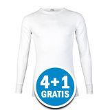 Beeren M3000 Heren Shirt Lange Mouw Wit Voordeelpakket_
