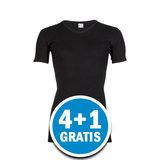 Beeren Heren M3000 V-hals T-shirt Extra Lang Zwart Voordeelpakket_
