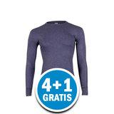 Beeren Heren Thermo Shirt Lange Mouw Donkerblauw Voordeelpakket_