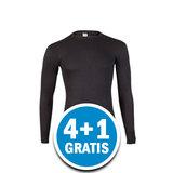 Beeren Heren Thermo Shirt Lange Mouw Zwart Voordeelpakket_