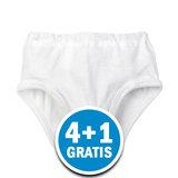Beeren Meisjes Slip Patricia Wit Voordeelpakket_