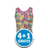 Beeren Meisjes Hemd Print Bloemetjes Gekleurd Voordeelpakket_