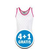 Beeren Meisjes Hemd Stip Wit  Voordeelpakket_