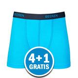 Beeren Jongens Boxershort Davy Lichtblauw  Voordeelpakket_