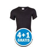 Beeren Jongens M3000 T-shirt V-hals Zwart Voordeelpakket_