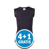 Beeren Young Jongens Mouwloos Shirt Zwart  Voordeelpakket_