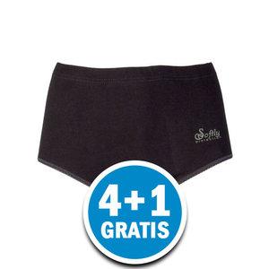 Beeren Julia Dames Tailleslip Zwart Voordeelpakket