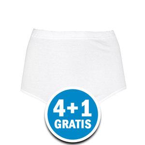 Beeren Dames Tailleslip Maxi Briljant Wit Voordeelpakket