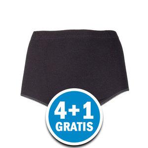 Beeren Dames Tailleslip Briljant Maxi Zwart Voordeelpakket