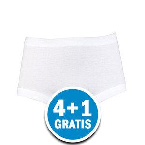 Beeren Dames Panty Slip Diana Wit  Voordeelpakket