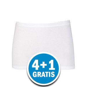 Beeren Dames Comfort Feeling Boxer Wit Voordeelpakket