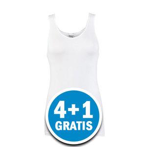 Beeren Dames Comfort Feeling Hemd Wit Voordeelpakket