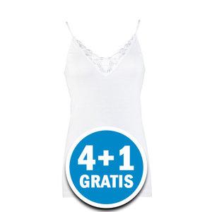 Beeren Dames Top Beatrix Wit  Voordeelpakket