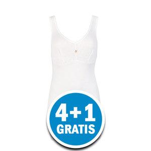 Beeren Dames Hemd Jacqueline Wit  Voordeelpakket