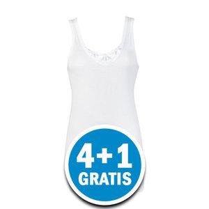 Beeren Dames Hemd Angela Wit  Voordeelpakket