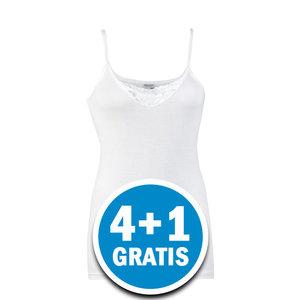 Beeren Dames Hemd Therese Wit  Voordeelpakket