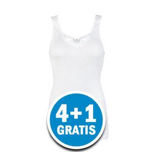 Beeren Dames Hemd Brenda Wit  Voordeelpakket