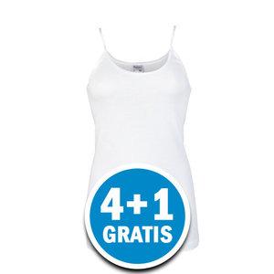 Beeren Dames Hemd Brigitte Wit Voordeelpakket