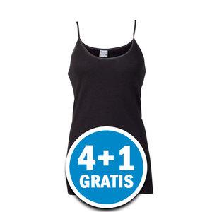 Beeren Dames Hemd Brigitte Zwart  Voordeelpakket