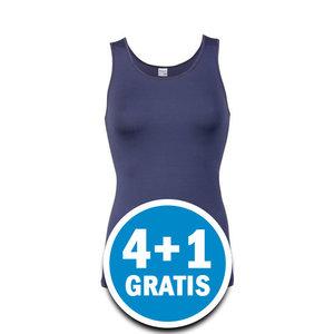 Beeren Elegance Dames Hemd Donkerblauw  Voordeelpakket