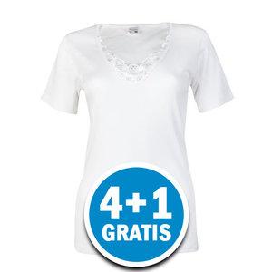 Beeren Dames T-shirt Beatrix Wit Voordeelpakket