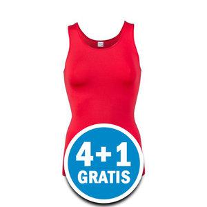 Beeren Dames Elegance Hemd Rood  Voordeelpakket
