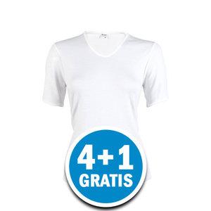 Beeren Thermo Dames T-shirt Wolwit  Voordeelpakket