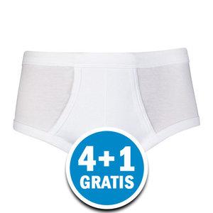 Beeren Heren M3000 Slip Gulp Wit Voordeelpakket