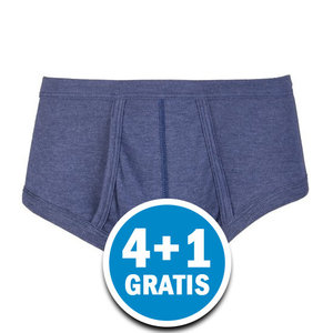 Beeren Heren M55 Slip Gulp Blauw Voordeelpakket