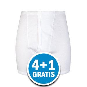 Beeren Heren Sportbroek 3579 Wit  Voordeelpakket