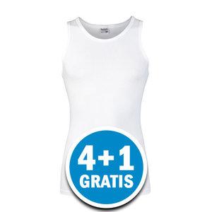 Beeren Heren Comfort Feeling Hemd Wit Voordeelpakket