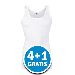 Beeren Heren Startex Hemd Wit  Voordeelpakket