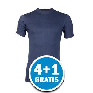 Beeren Heren Comfort Feeling T-shirt Donkerblauw Voordeelpakket
