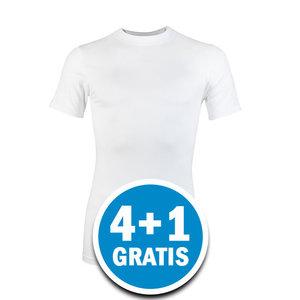 Beeren Heren Comfort Feeling T-shirt Wit Voordeelpakket