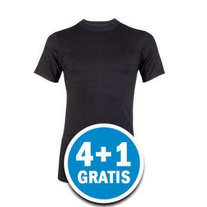 Beeren Comfort Feeling Heren T-shirt Zwart Voordeelpakket