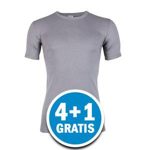 Beeren Heren T-shirt M3000 Grijs Voordeelpakket