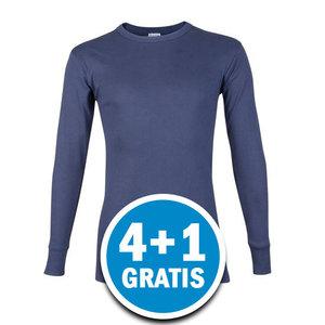 Beeren Heren M3000 Shirt Lange Mouw Donkerblauw Voordeelpakket