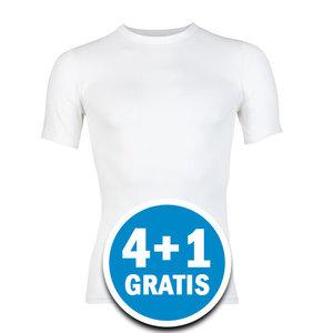Beeren Young Heren T-shirt Wit  Voordeelpakket