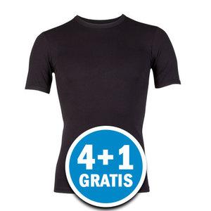 Beeren Young Heren T-shirt Zwart  Voordeelpakket