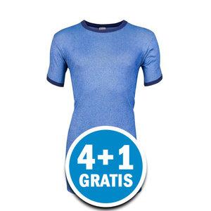 Beeren Heren M2000 T-shirt Blauw Voordeelpakket